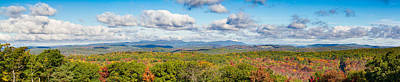 Autumn Photograph - Autumn In The Hills Of Connecticut by Brian Caldwell