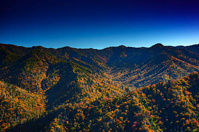 Autumn In The Smokies Print by Rick Berk