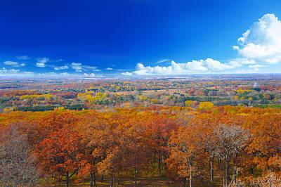 Autumn Landscape I Print by Art Spectrum