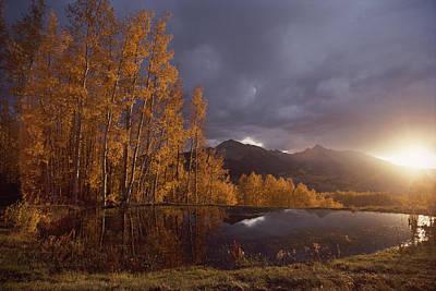 Natural Forces Photograph - Autumn Landscape Near Telluride by Annie Griffiths
