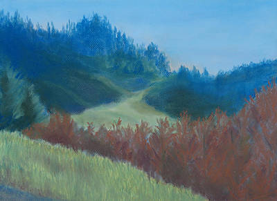 Autumn Landscape Of The Mind Print by Jenny Armitage