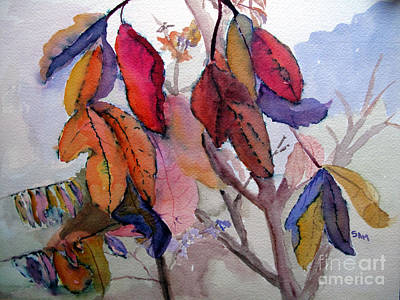 Autumn Leaves Original by Sandy McIntire