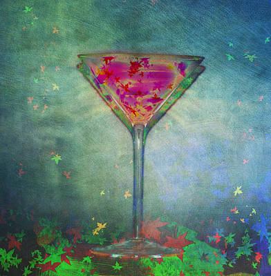 Photograph - Autumn Martini by Bill Cannon
