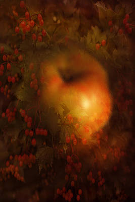 Autumn Mood Print by Margarita Buslaeva