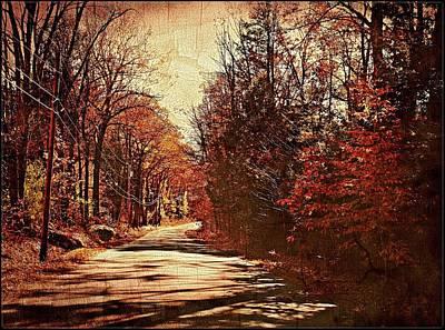 Autumn Norland's Road Original by Joy Nichols