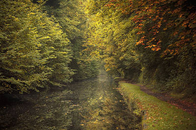 Autumn On The Grand Union Canal Print by Chris Fletcher
