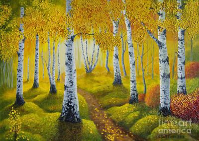 Autumn Path Original by Veikko Suikkanen