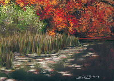 Autumn Pond Original by Susan Jenkins