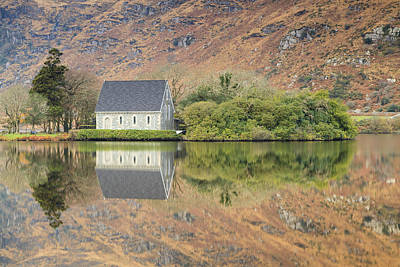Gougane Barra Photograph - Autumn Reflections by Graham Daly