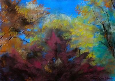 Autumn Splendor Print by Susan Elise Shiebler