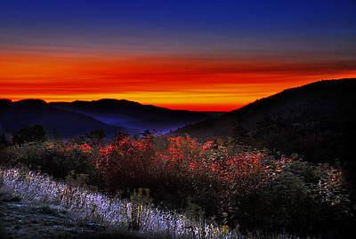 Autumn Sunrise Print by William Carroll