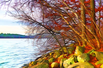 Nature Digital Art - Autumn Whispers by Lilia D