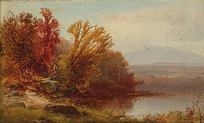 Painting - Autumn by William Hart