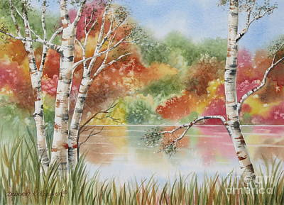 Autumn Wonder Print by Deborah Ronglien
