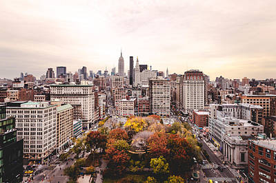 Chris Martin Photograph - Autumnal Nyc by Chris Martin