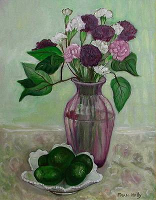 Avacados Painting - Avacado by Fran Kelly