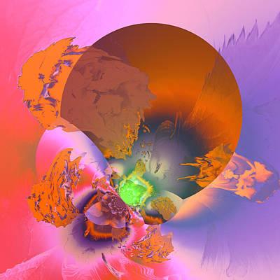 Algorithmic Digital Art - Aw 55 by Claude McCoy