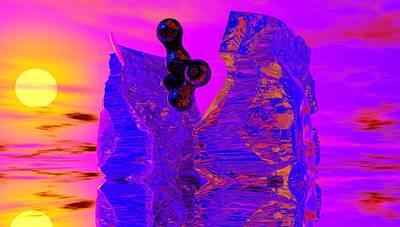 Abstract Digital Art Photograph - Awakening by David Lane