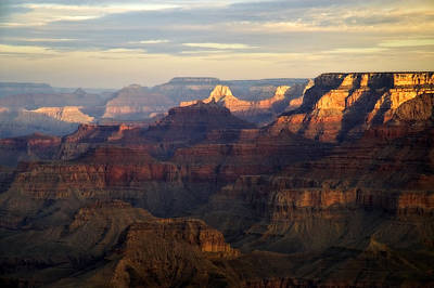 Awakening, Grand Canyon From Moran Point, Arizona, Usa Print by Frank Peters