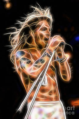 Axl Rose Collection Print by Marvin Blaine
