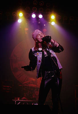 Axl Rose Print by Rich Fuscia