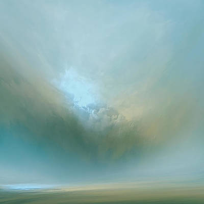 Azure Mist Print by Lonnie Christopher