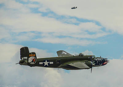 Photograph - B-25 Bettys Dream by Tommy Anderson