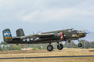 Photograph - B-25 Mitchell Tondelayo by Tommy Anderson