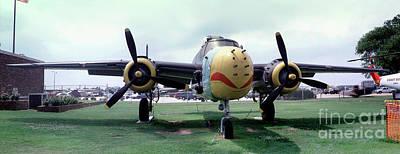 B-25j Mary Alice II, Mitchell Bomber Print by Wernher Krutein