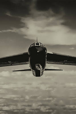 Photograph - B-52 Stratofortress Triptych - 2 by Tommy Anderson