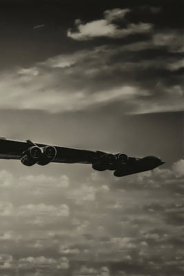 Photograph - B-52 Stratofortress Triptych - 3 by Tommy Anderson