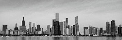 Jj Photograph - B And W Skyline by D Plinth