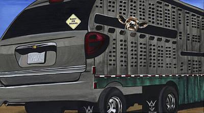 Baby On Board Original by Twyla Francois