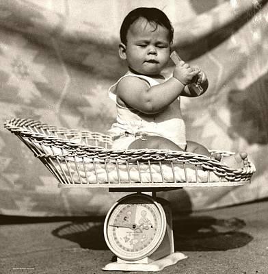 Baby Scale Print by Daniel Napoli
