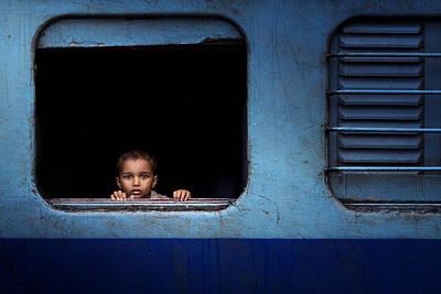Baby Trip Print by Nasser Al-nasser