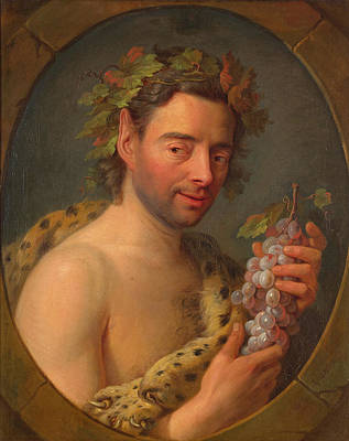 Charles-andre Van Loo Painting - Bacchus by Charles-Andre van Loo