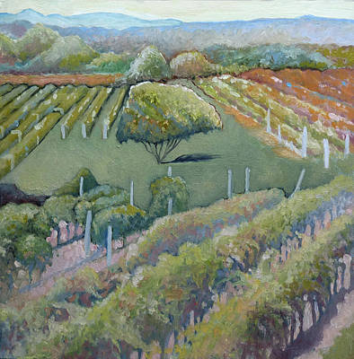 Vines Painting - Bachanal 2.0 by Catherine Twomey