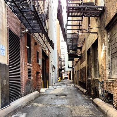 Back Alley Print by 2141 Photography