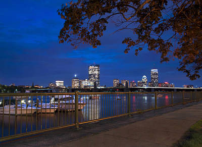 Back Bay Skyline - Boston Original by Joann Vitali