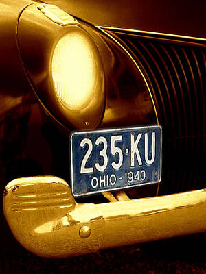 Antique Car Photograph - Back In The Day by Kenneth Krolikowski