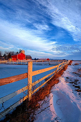 Back Road Life Print by Phil Koch