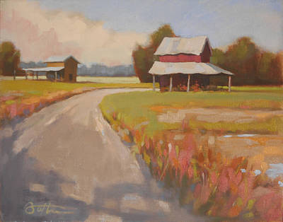 Back Roads Original by Todd Baxter