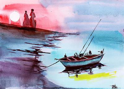 Back To Pavilion 2 Original by Anil Nene