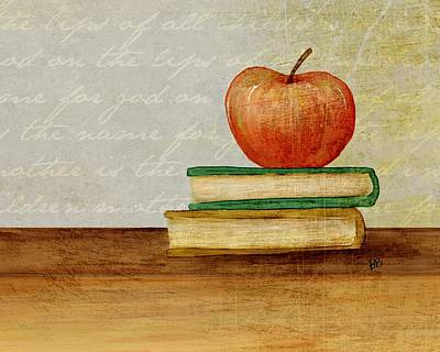 Back To School Print by Brenda Bryant