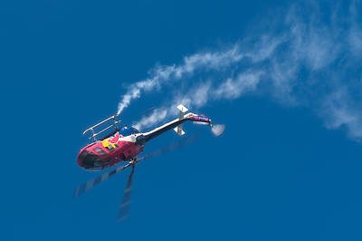 Fly Photograph - Backflip by Sebastian Musial