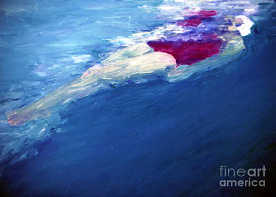 Free Form Painting - Backfloat by Lisa Baack