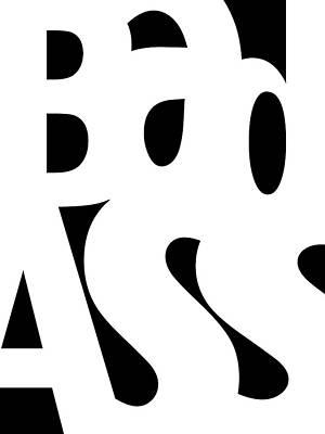 Abstract Digital Art - Bad Ass by Bill Owen