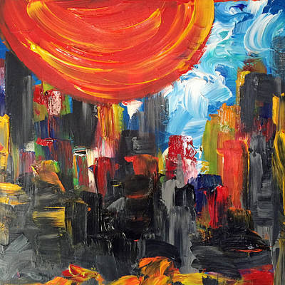Painting - Bad Lands by Mac Worthington