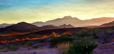 Digital Art - Badlands by Dan Stone
