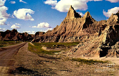 Badlands National Park  Print by Ruth  Housley